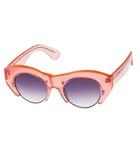 Alvar blush & smoke gradient sunglasses