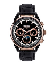 Ambassadeur rose gold-tone watch