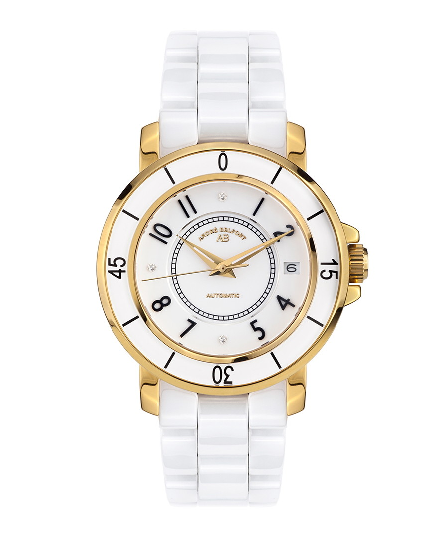 Aphrodite gold-tone & diamond watch Sale - andre belfort