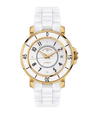 Aphrodite gold-tone & diamond watch
