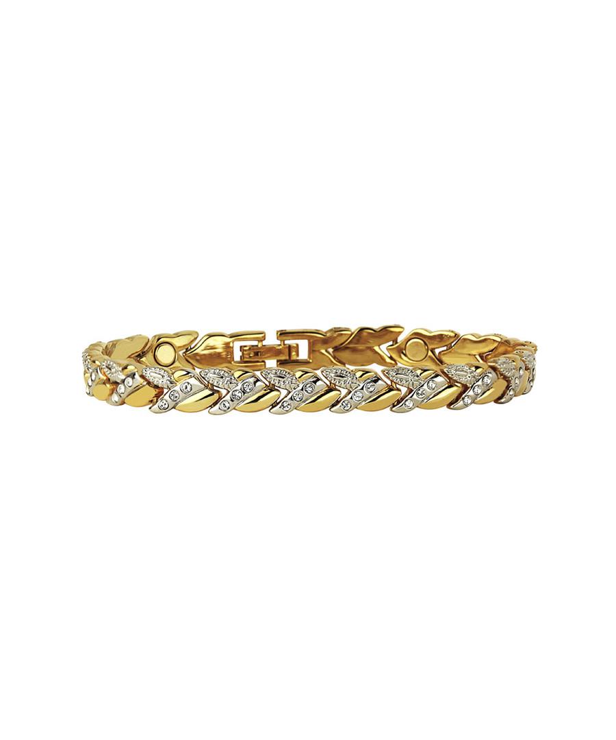 24k gold-plated magnetic chain bracelet Sale - orcea