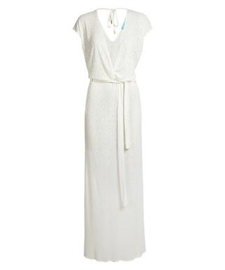 c94fc61326d Melissa cream knit maxi dress Sale - Melissa Odabash Sale
