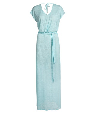 8b15310f38c Melissa Odabash. Melissa sky blue knit maxi dress