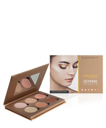 Glowing face palette & mirror