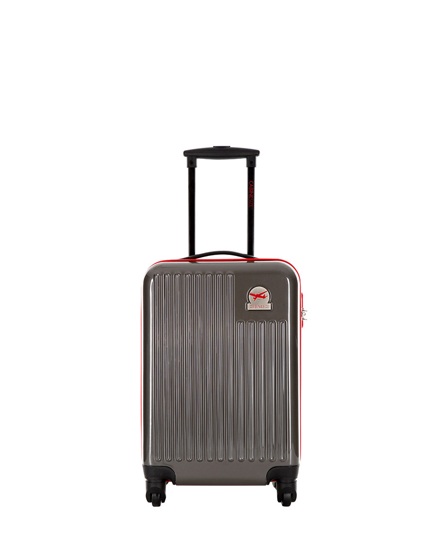 Dark grey spinner suitcase 48cm Sale - cabine size