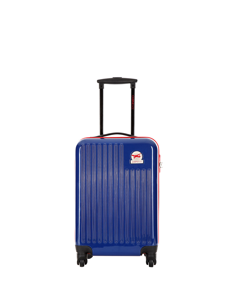 Blessington blue spinner suitcase 48cm Sale - cabine size