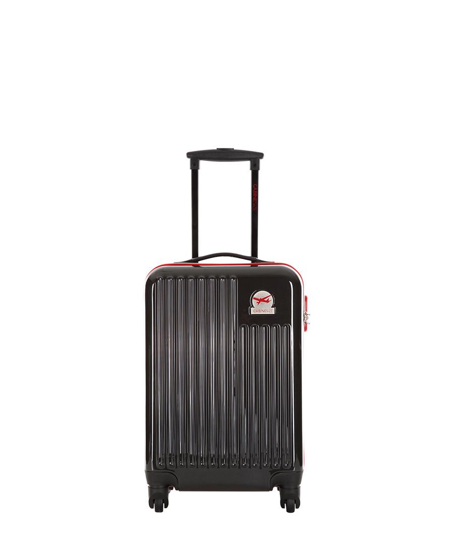 Blessington black spinner suitcase 48cm Sale - cabine size