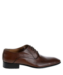 Brown leather Derbys