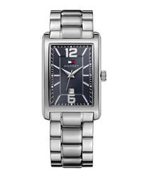 La Essentials silver-tone watch