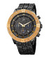 Gold-tone & black crystal watch Sale - joshua & sons Sale