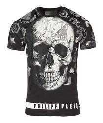 David black cotton T-shirt