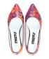 Multi-coloured pointed toe ballerinas Sale - STREETFLY Sale