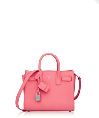23b5d3c3fc Nano Sac De Jour pink leather grab bag Sale - SAINT LAURENT Sale
