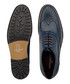 Oliver navy leather brogues Sale - JUSTIN REECE Sale