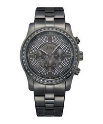 Vanquish gunmetal-plated watch