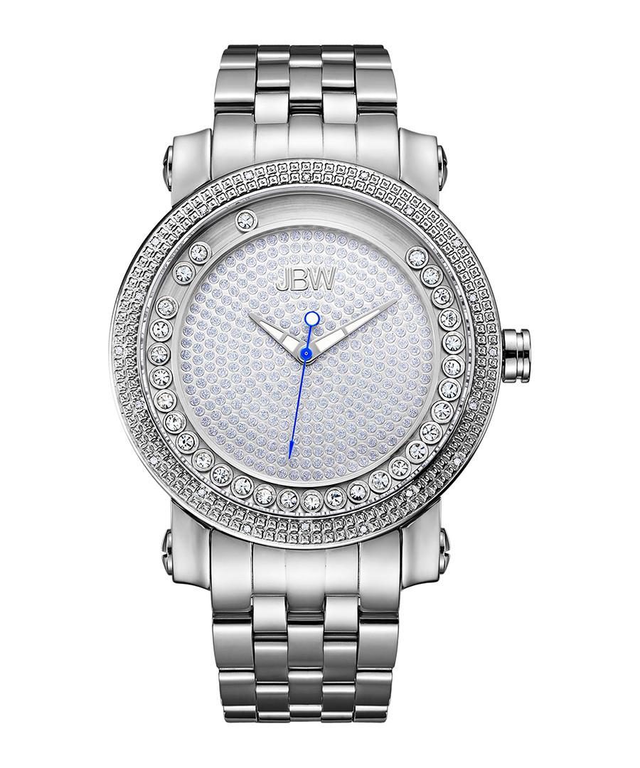 Hendrix stainless steel & diamond watch Sale - jbw