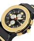 Saxon black & diamond dial watch Sale - jbw Sale
