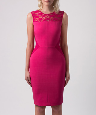b300d52df0c Hybrid. Suhani pink lace pencil dress