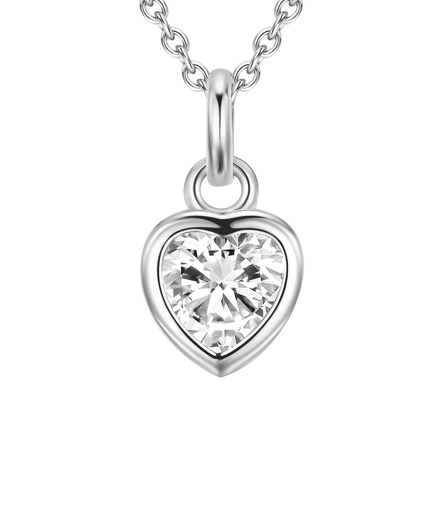Sterling silver heart pendant necklace Sale - carat 1934
