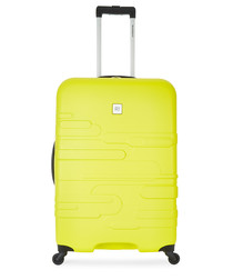 Finlay yellow spinner suitcase 79cm
