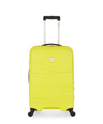 Finlay yellow spinner suitcase 69cm