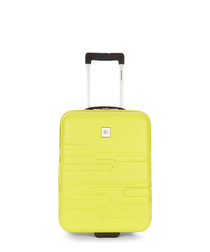 Finlay yellow upright suitcase 55cm