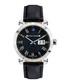 Nestorius leather-strap & diamond watch  Sale - chrono diamond Sale