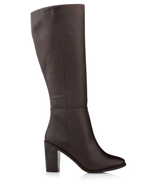 7260a6f75cd951 DUNE. Women s Tootin brown leather boots