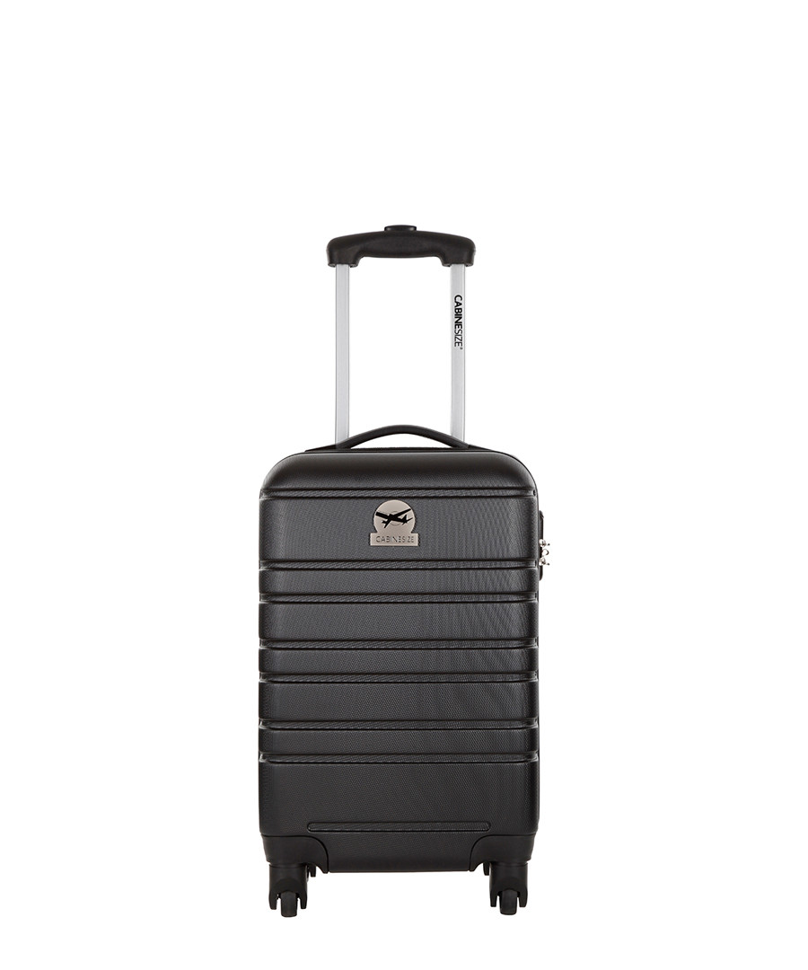 Halifax black spinner suitcase 45cm Sale - cabine size