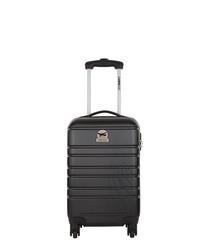 Halifax black spinner suitcase 45cm