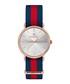 La Variée rose gold-tone striped watch Sale - gaspard sartre Sale