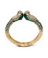 Peacock emerald-tone & crystal cuff Sale - amrita singh Sale