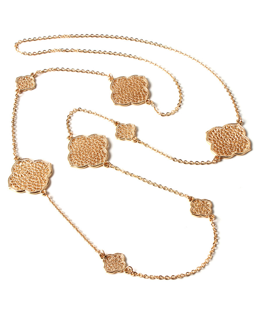 Filigrana gold-tone station necklace Sale - amrita singh