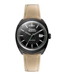 Belsize camel stainless steel watch