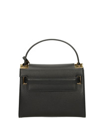 My Rockstud black leather grab bag
