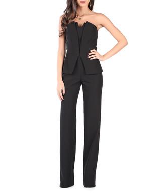 78a7d528dad Black strapless peplum jumpsuit Sale - Carla by Rozarancio Sale