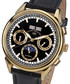 Ambassadeur gold-tone & leather watch Sale - andre belfort Sale