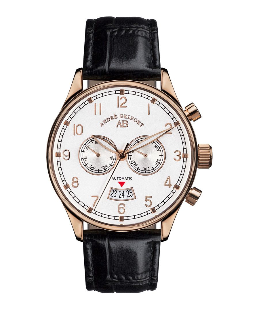 Calendrier rose gold-tone watch Sale - andre belfort