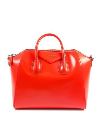 bf53a6f2c1 Antigona medium red leather grab bag Sale - Givenchy Sale