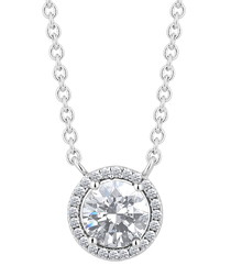 Halcyon white gold-plated neckace