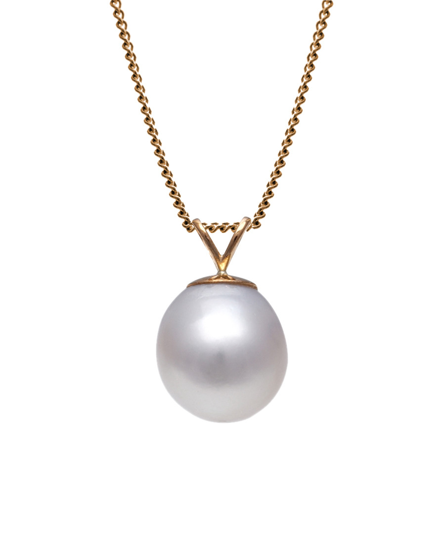 1cm white pearl & 9ct gold necklace Sale - Windsor Pearls