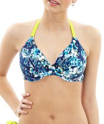 Blaire floral bikini top