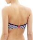 Lucille sailor print bandeau bikini top Sale - Cleo Swimwear Sale