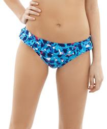 Suki floral frill bikini briefs