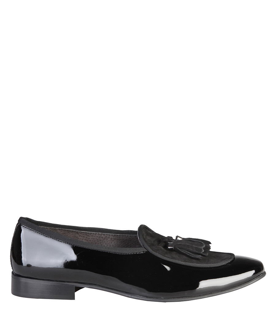 8b60b26a676 Quentin black patent leather loafers Sale - Versace 1969