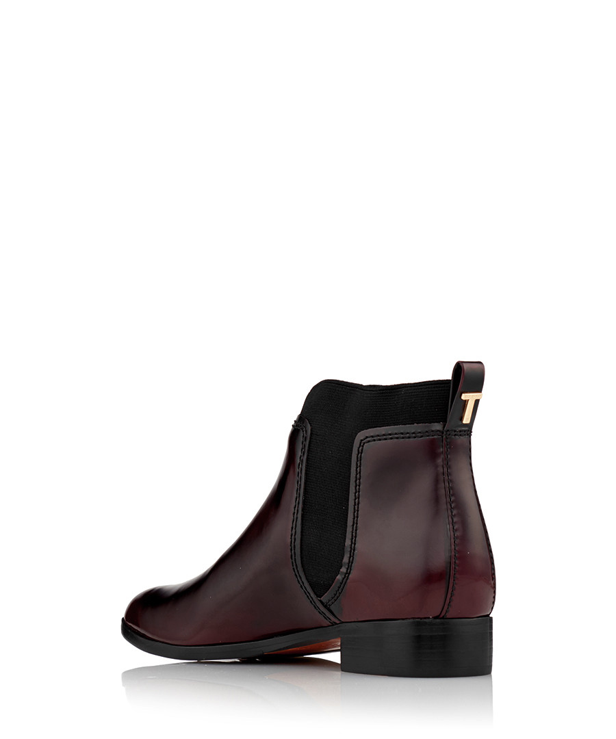 3cc6cd55d756db ... Women s Maki oxblood leather boots Sale - Ted Baker ...