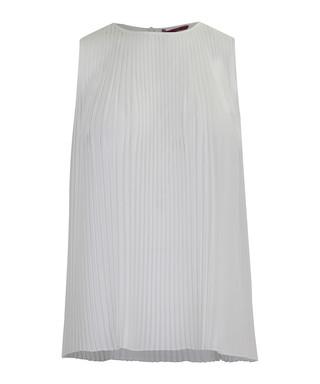 4bf6ad79 Alie white pleated sleeveless blouse Sale - WTR LONDON Sale