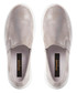 Enza silver-tone leather sneakers Sale - dune Sale