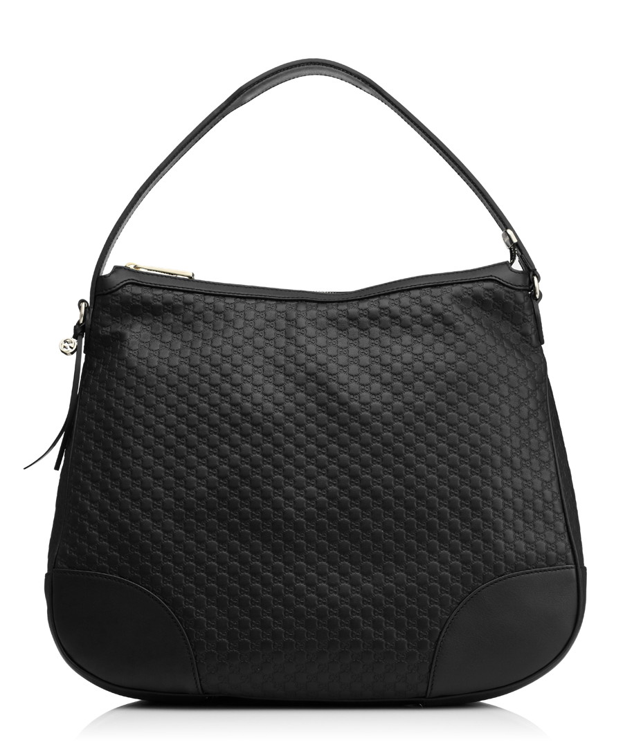 Guccissima black leather shoulder bag Sale - gucci