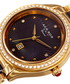Black & gold-tone crystal ceramic watch Sale - Akribos XXIV Sale